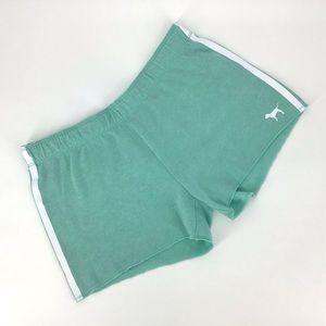 PINK Victoria's Secret Mint Green Shorts, Small